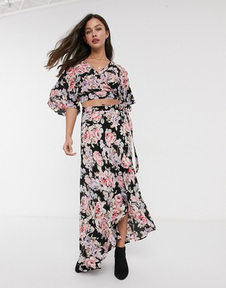 Band of Gypsies maxi skirt two-piece