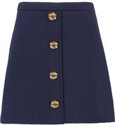 Love Moschino Embellished cloqué mini skirt