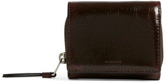 AllSaints Leather Bede Card Holder