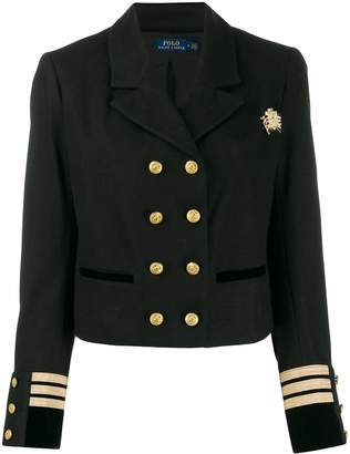 Polo Ralph Lauren officer style cropped blazer
