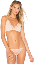 Only Hearts So Fine Lace Racerback Bralette in Pink. - size M (also in S)