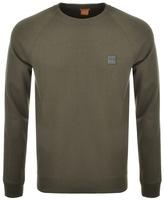 BOSS ORANGE Wheel Sweatshirt Green