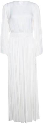 Elizabeth and James White Polyester Dresses