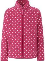 Uniqlo Girls Printed Fleece Full-Zip Long Sleeve Jacket