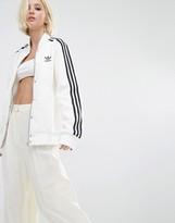 adidas Three Stripe Bonded Lace Bomber Jacket
