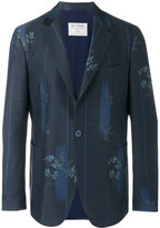 Etro floral print blazer - men - Silk/Cotton/Wool - 50