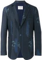 Etro floral print blazer - men - Wool/Cotton/Silk - 50