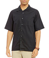Daniel Cremieux Signature Solid Short-Sleeve Woven Camp Shirt