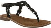 Azura Women's Cerelia Snake Print Thong Sandal
