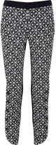 Rag and Bone Rag & bone Kutch embroidered cotton-felt pants