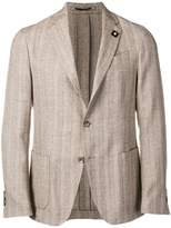 Lardini fitted button blazer