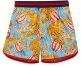 Gucci Children's circus print swim short