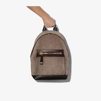 Tom Ford brown suede backpack