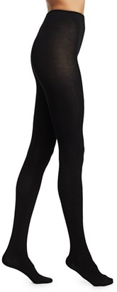 Fogal Cashmere-Blend Opaque Tights