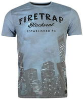 Firetrap Blackseal Night City T Shirt