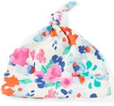 Joules Baby Girls Newborn-9 Months Floral-Print Knot Hat