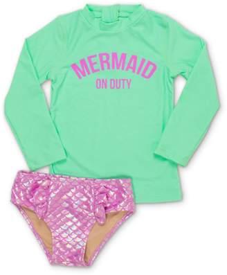 Shade Critters Mermaid on Duty Two-Piece Rashguard Swimsuit