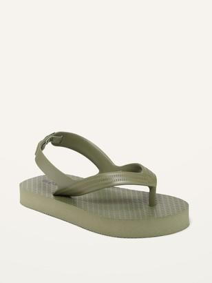Old Navy Unisex Solid Flip-Flops for Toddler