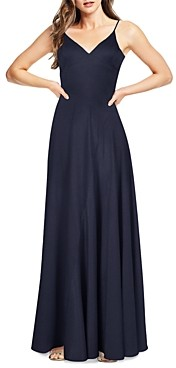 Aidan Mattox Washed Charmeuse Maxi Dress - 100% Exclusive