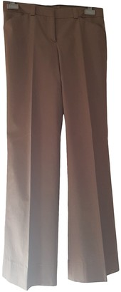 Burberry Green Cotton Trousers