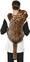 Dolce & Gabbana Leopard Shaped Plush Backpack