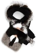 Fendi 'Karlito' Genuine Fox, Genuine Mink & Genuine Nutria Fur Scarf