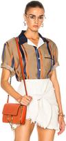 3.1 Phillip Lim Bowler Striped Shirt