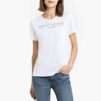 Tommy Hilfiger Cotton Short-Sleeved T-Shirt with Crew-Neck