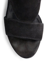 Brian Atwood Brissa Over-The-Knee Suede Sandals