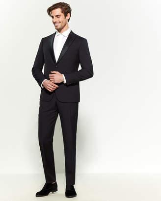 Armani Collezioni Virgin Wool Tuxedo Suit