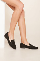 Forever 21 FOREVER 21+ Faux Suede Loafers