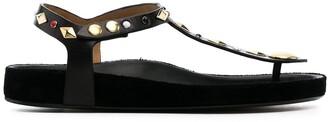 Isabel Marant Enore studded flat sandals