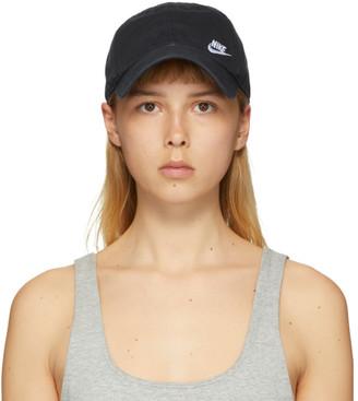Nike Black NSW Futura Classic Cap