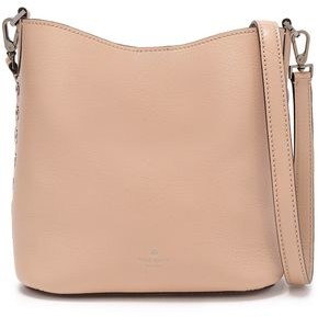 Kate Spade Atlantic Avenue Small Libby Eyelet-embellished Pebbled-leather Shoulder Bag