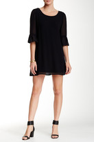 Want & Need Lattice Back Boho Sleeve Dress