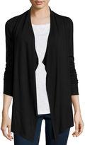Liz Claiborne Long-Sleeve Knit Cozy Cardigan