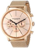 Akribos XXIV Men's AK714RG Ultimate Rose Gold-Tone Mesh Bracelet Watch