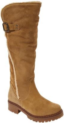 Musse & Cloud Women's Casual boots BGE - Beige Faux Fur-Lined Canita Suede Boot - Women