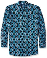 Wrangler Men's Big and Tall Checotah Dress Western Long Sleeve Shirt