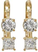Ileana Makri Women's White Diamond Drop Earrings