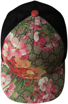 Gucci Pink Cloth Hats & pull on hats