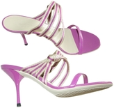 Gucci Pink Leather Sandals