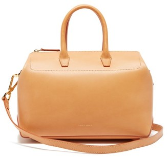 Mansur Gavriel Travel Mini Leather Bag - Womens - Tan Multi
