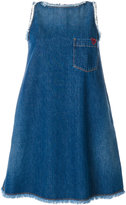 Love Moschino swing denim dress - women - Cotton - 40