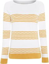 Barbour Headland stripe knit jumper