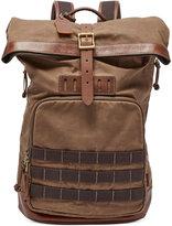 Fossil Men's Defender Roll-Top Backpack