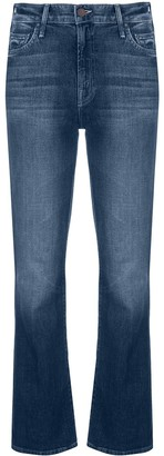 Mother Mid-Rise Bootcut Jeans