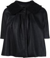 Co cropped leather jacket