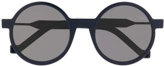 Va Va Vava structured round-frame sunglasses