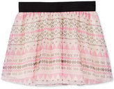 Epic Threads Little Girls' Mix and Match Tribal-Print Tulle Skirt, Only at Macy's